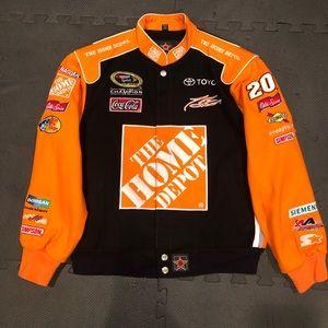 a5dd1d7a JH DESIGN Jackets & Coats   Nascar Home Depot Jacket   Poshmark